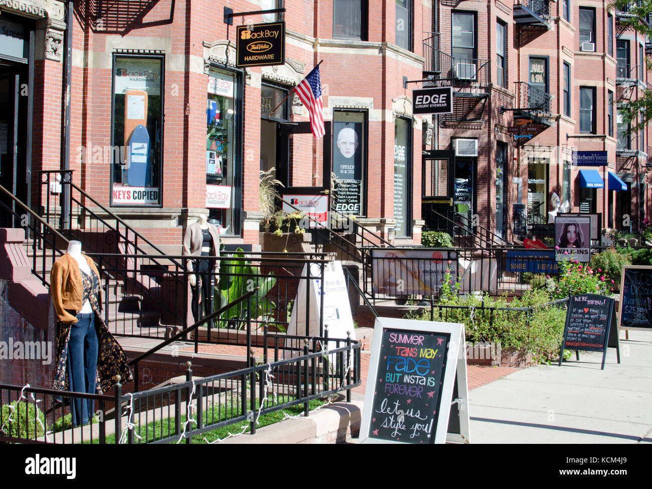 Shopping along historic newbury street stores back bay in for Michaels crafts locations ma