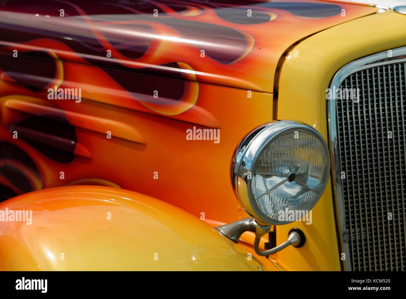 Hot Rod Flames Stock Photos & Hot Rod Flames Stock Images - Alamy