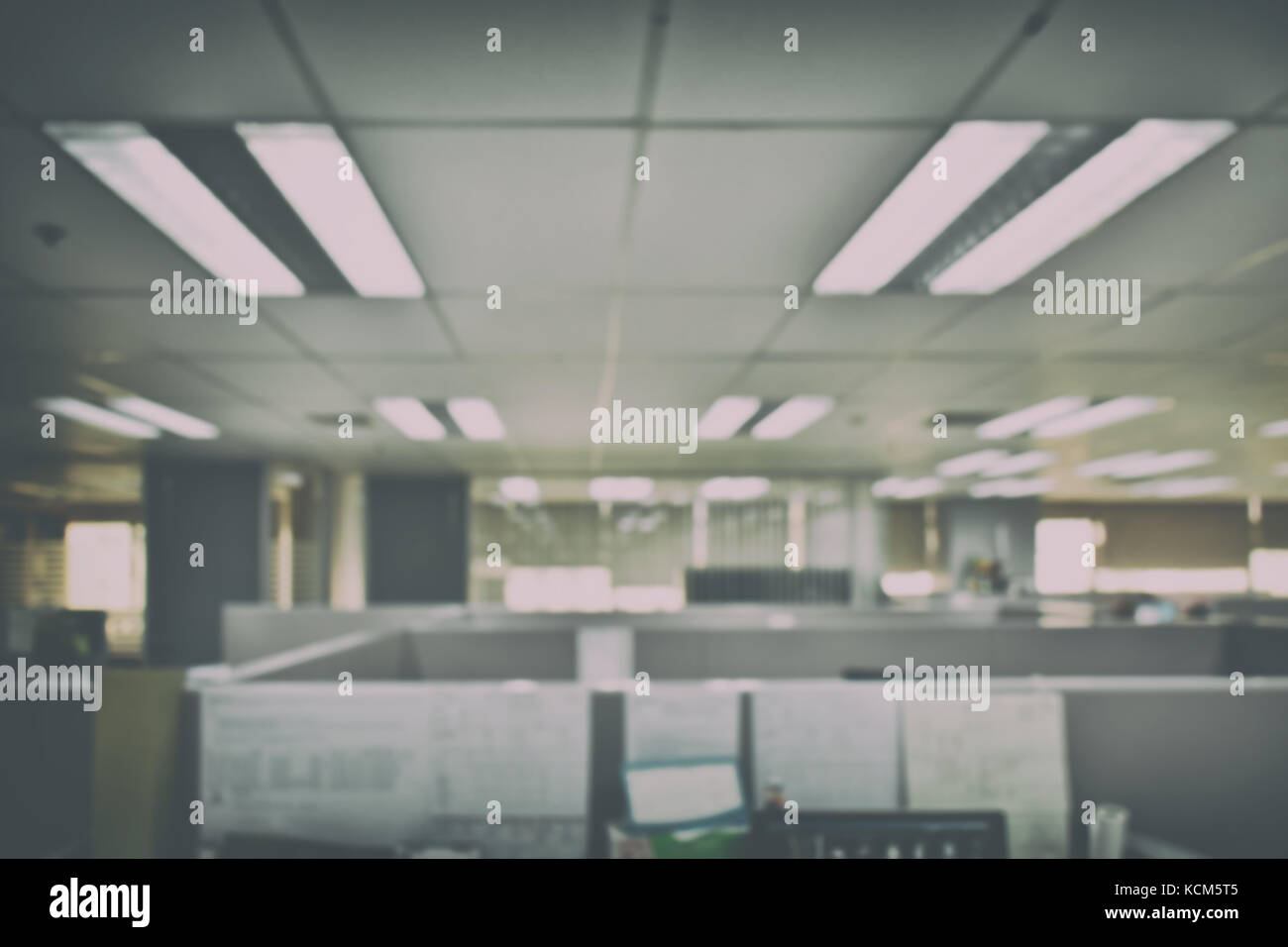 Awesome Defocus Office Space Background
