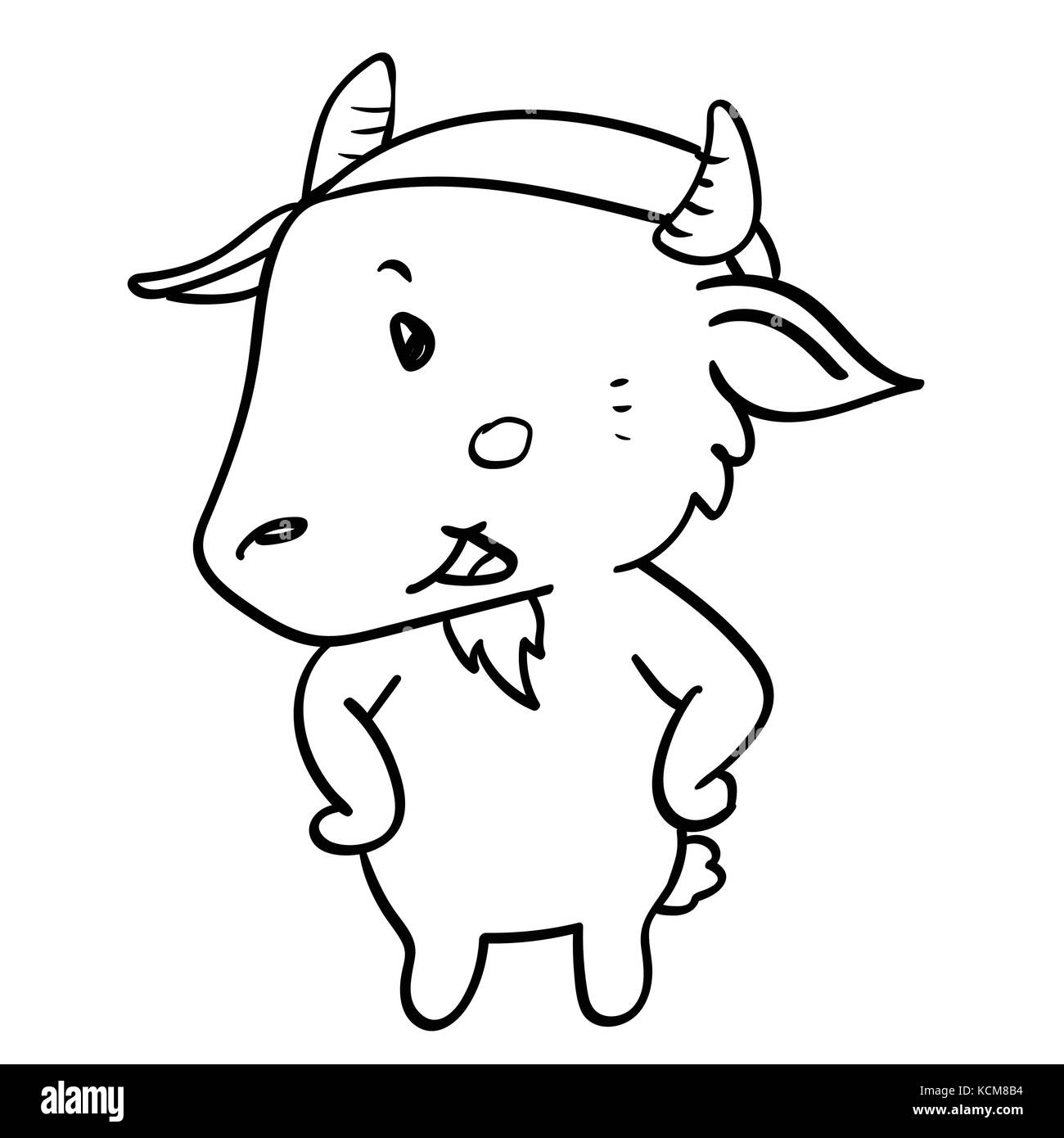 The Happy Goat Book Stock Photos  for happy goat drawing  199fiz