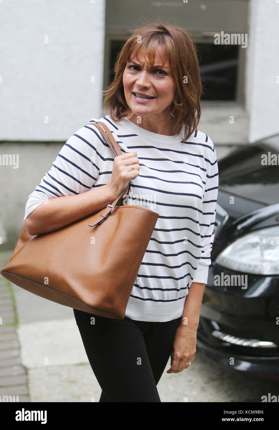 Lorraine Kelly outside ITV Studios  Featuring: Lorraine Kelly Where: London, United Kingdom When: 05 Sep 2017 Credit: - Stock Image