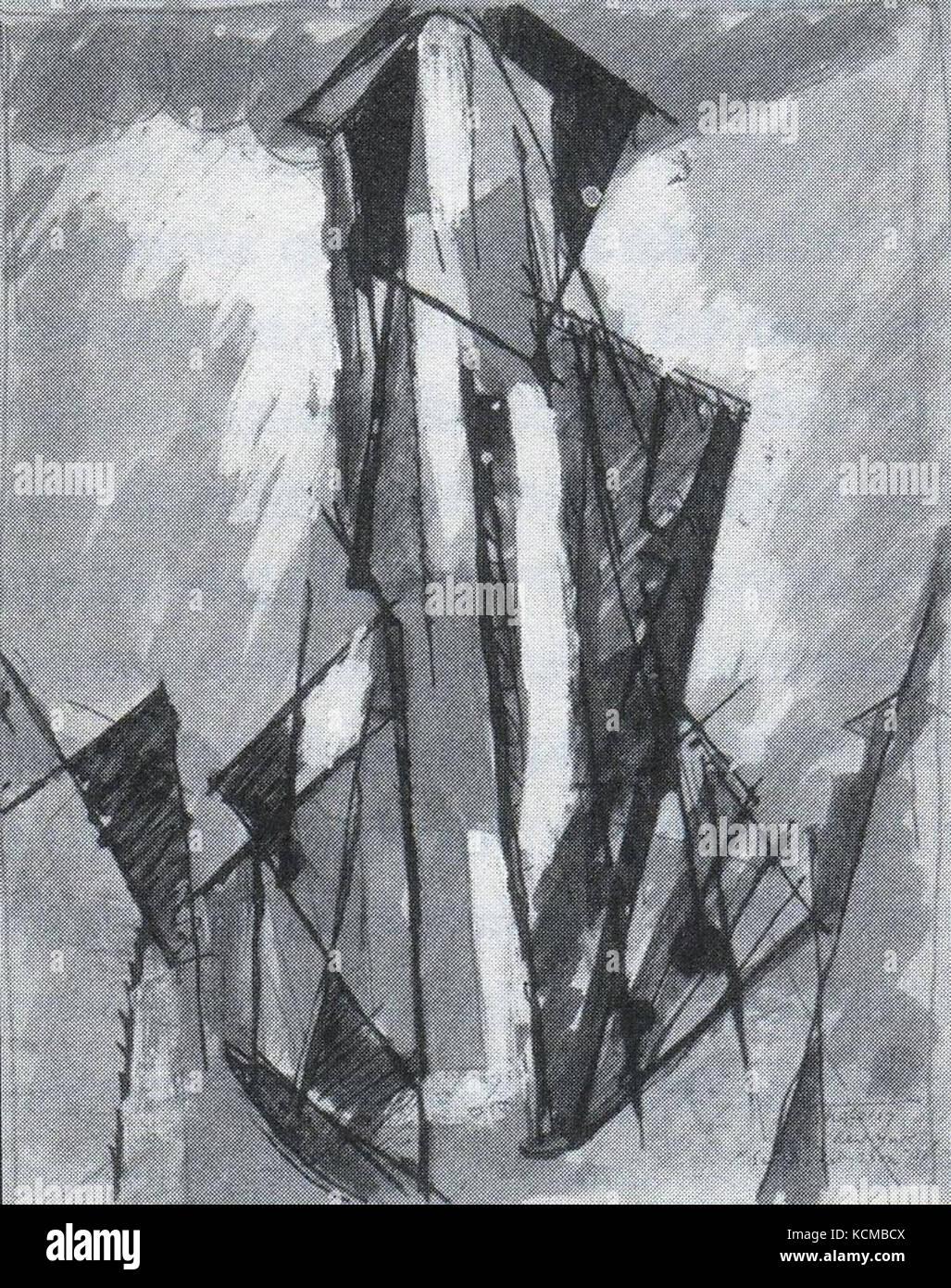 Albert Gleizes Sur le Flat iron 1916 - Stock Image