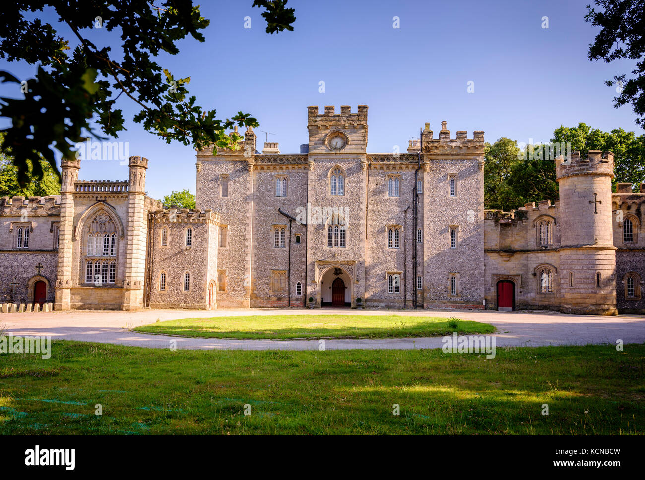 Lady Colin Campbell and her West Sussex home Castle Goring. - Stock Image