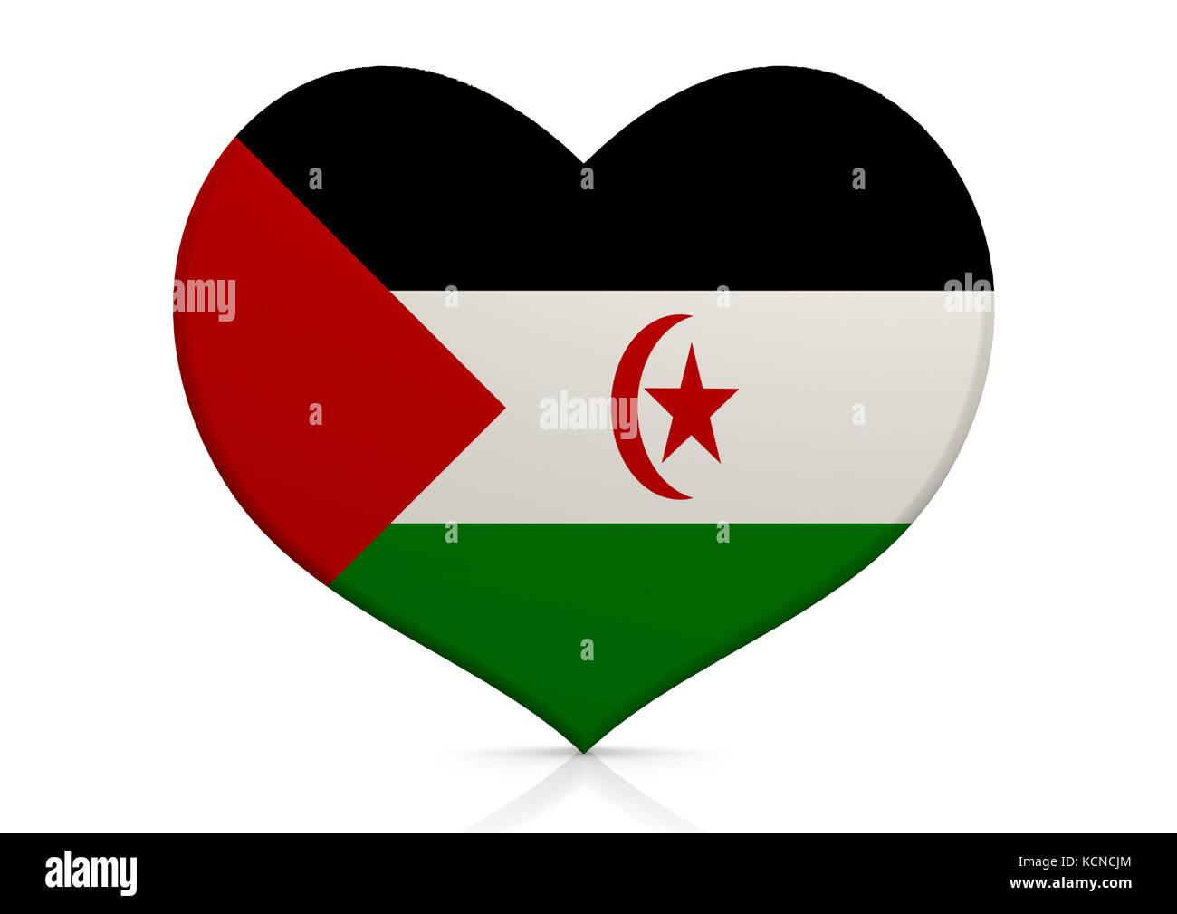Western Sahara - Stock Image