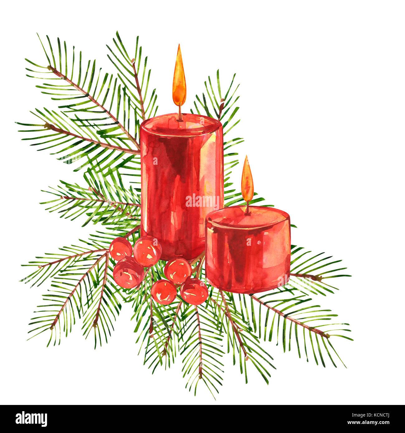 Christmas Illustrations Vintage.Vintage Christmas Illustrations Christmas Candle Tree And