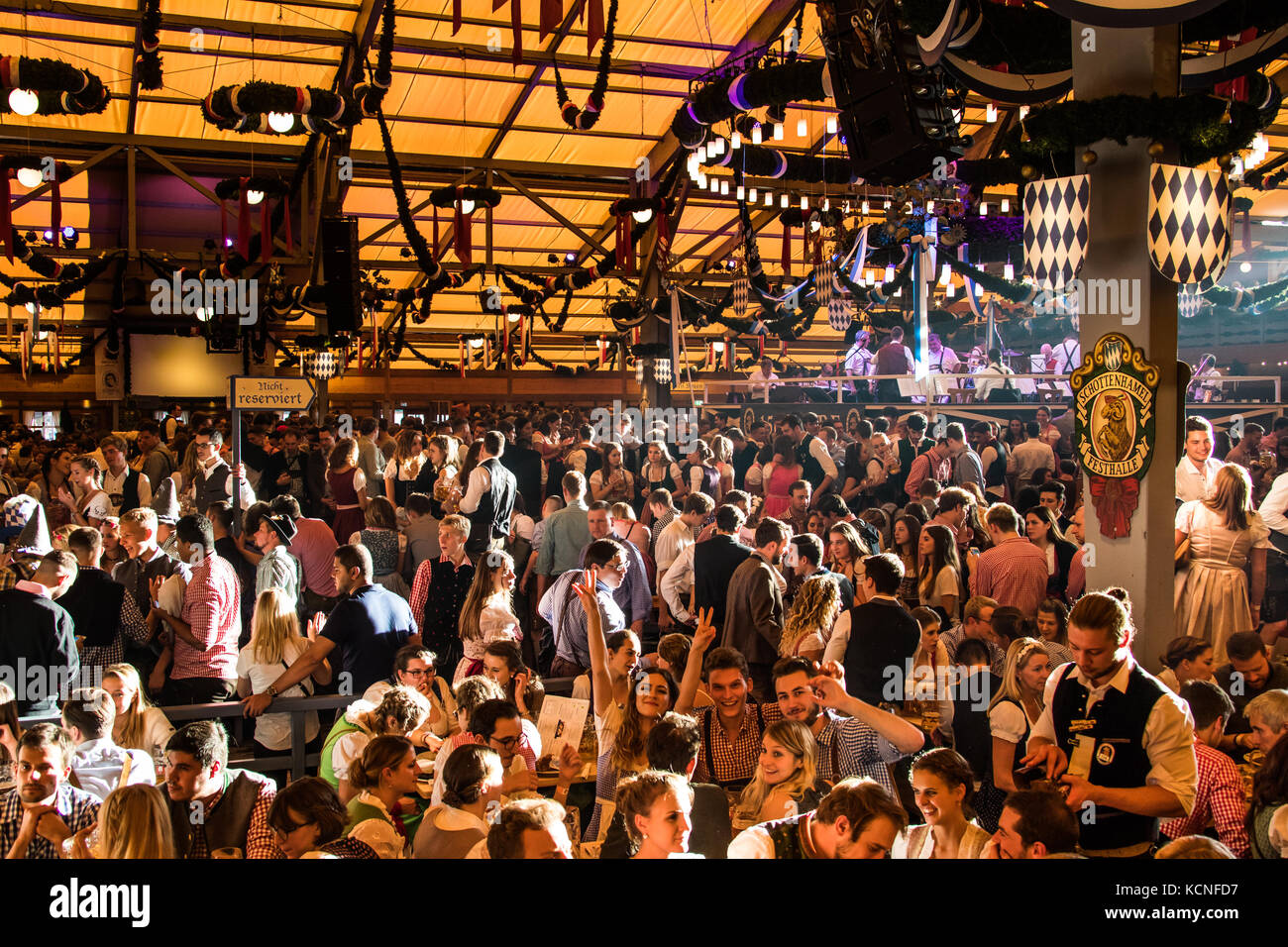 Octoberfest, Munich, Germany - Stock Image