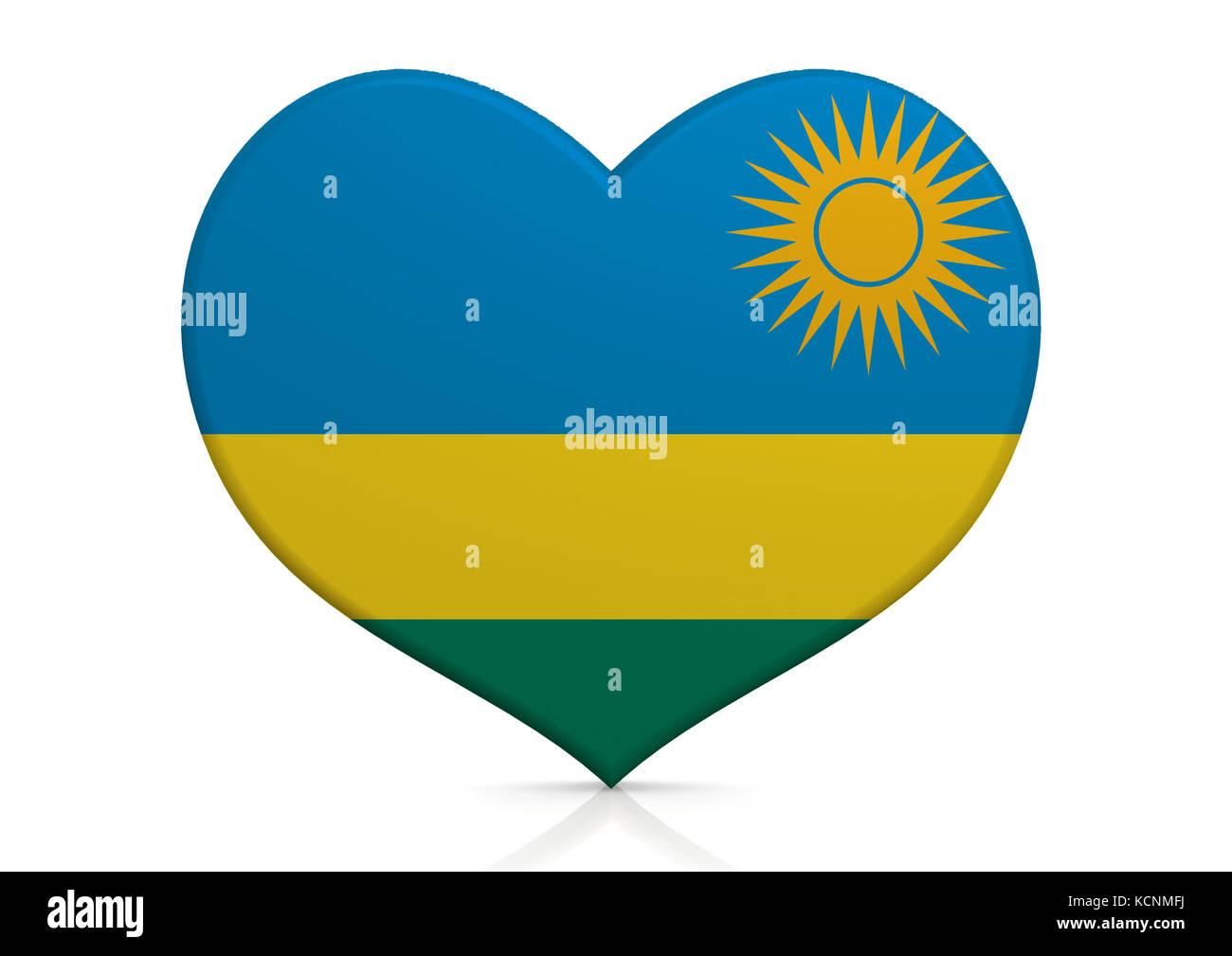 Rwanda - Stock Image