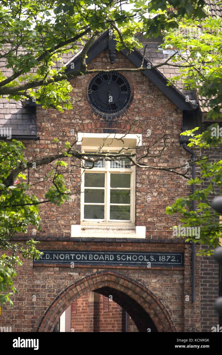 Norton Baord Schools, County Durham - Stock Image