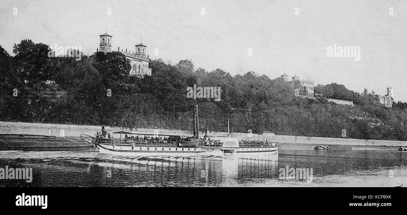 Dampfschiff Meissen Stock Photo 162761499 Alamy
