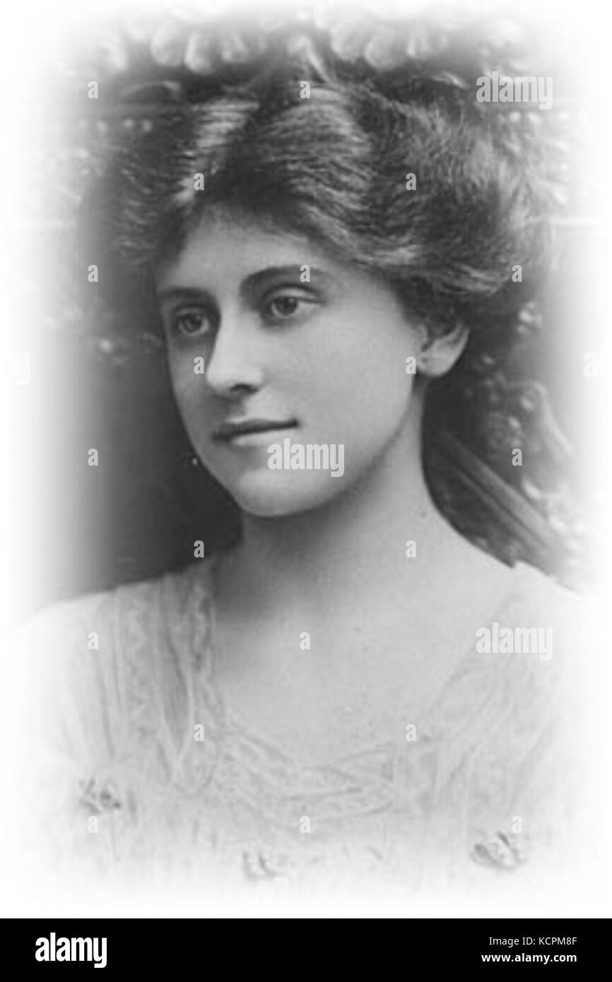 Beatrice Forbes Robertson Hale actress - Stock Image