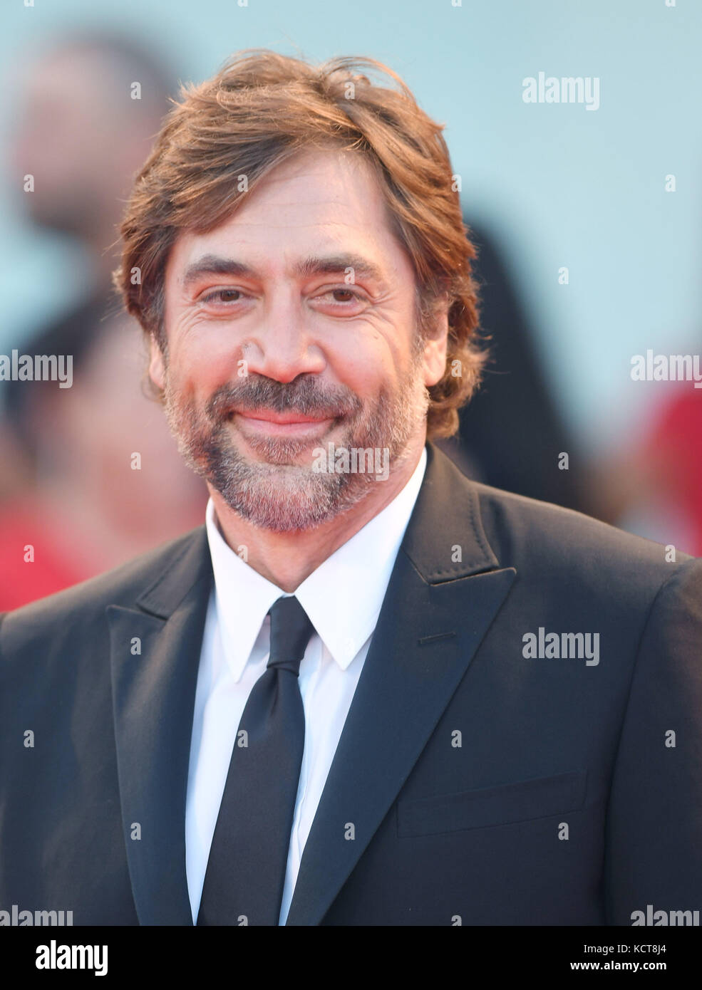 74th Venice Film Festival - Mother! - Premiere  Featuring: Javier Bardem Where: Venice, Italy When: 05 Sep 2017 - Stock Image