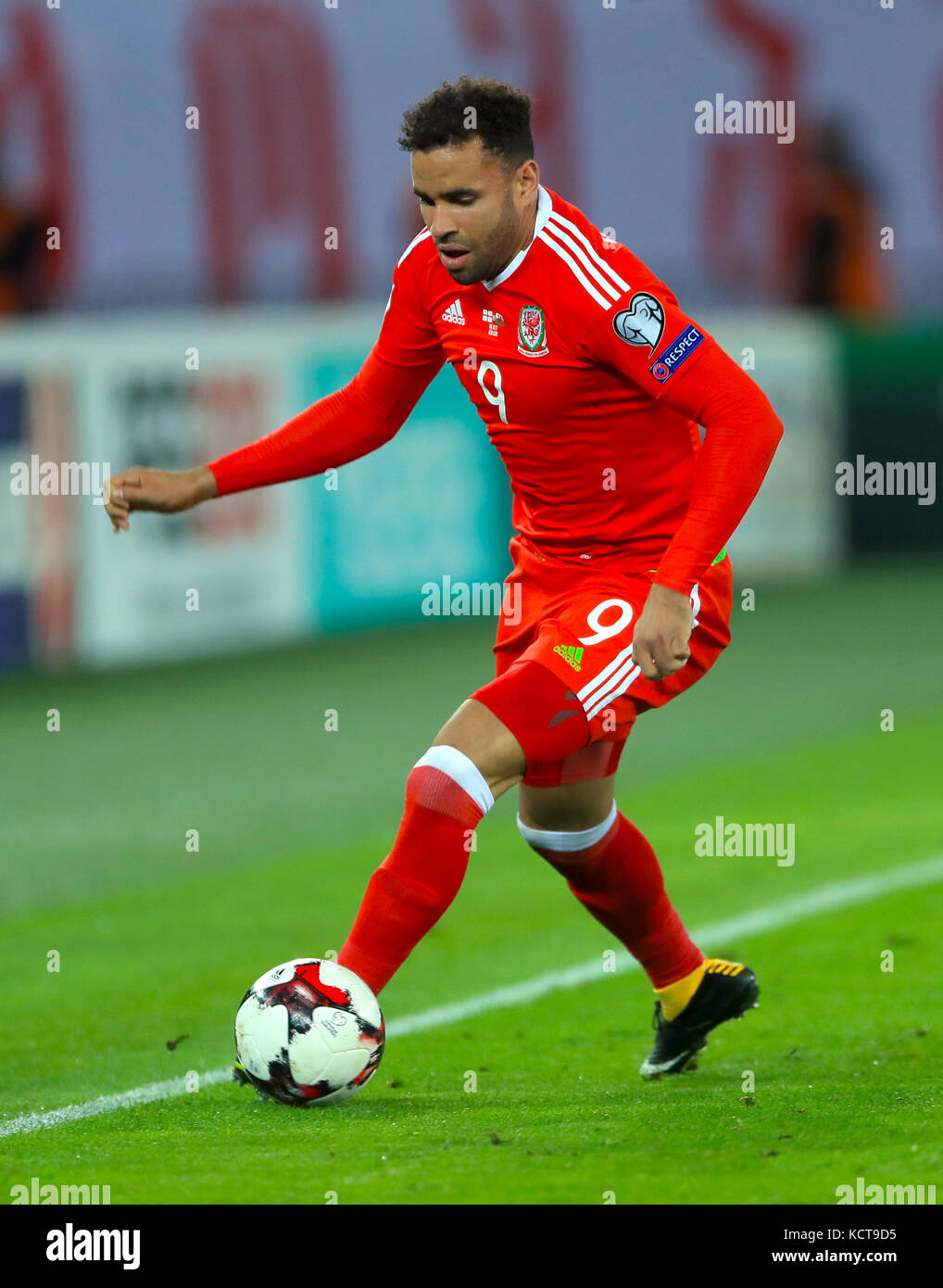 Wales Hal Robson Kanu During The 2018 Fifa World Cup Qualifying Group D Match At Boris Paichadze Dinamo Arena Tbilisi Press Association Photo