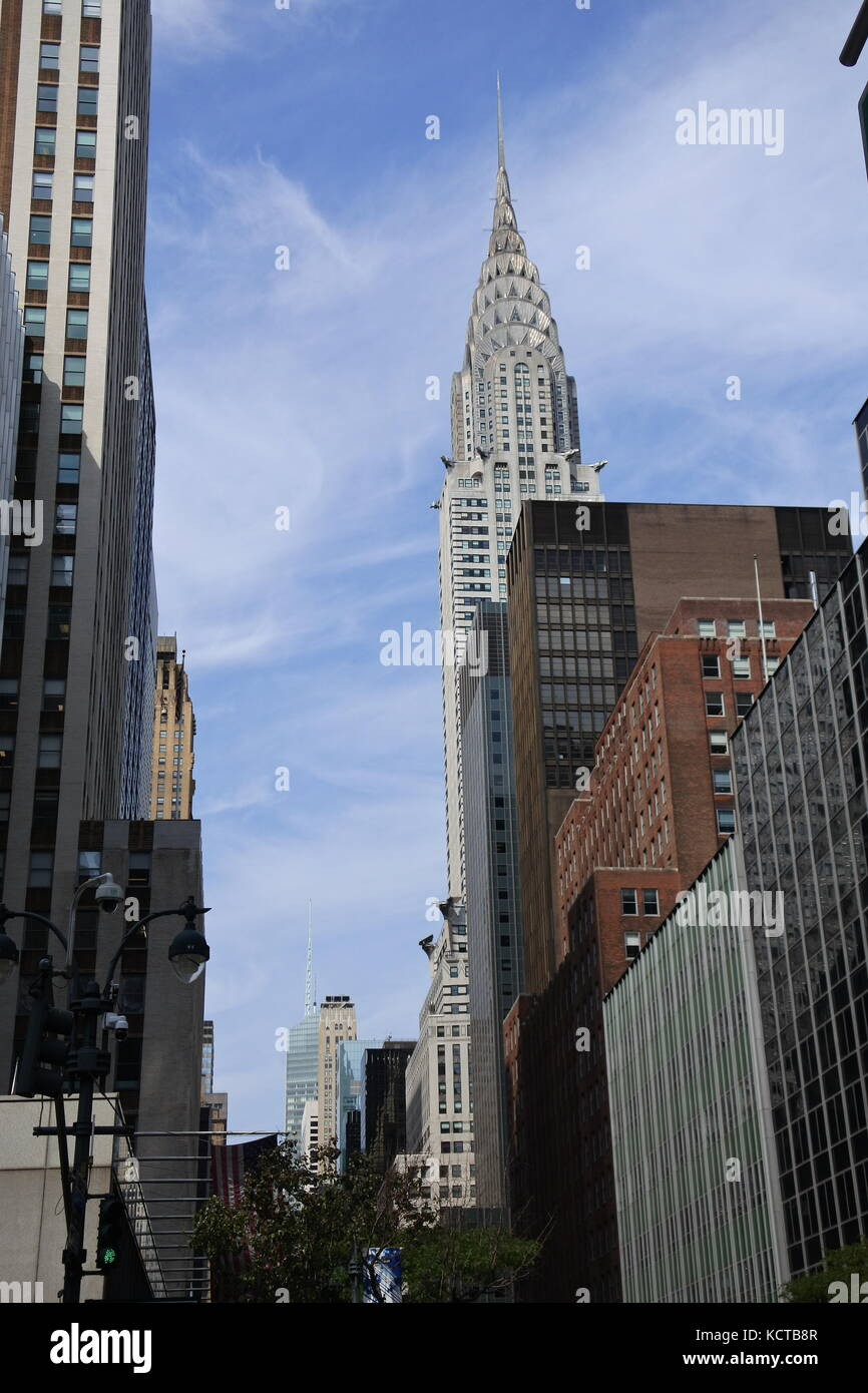 The Chrysler Building, New York City - Stock Image