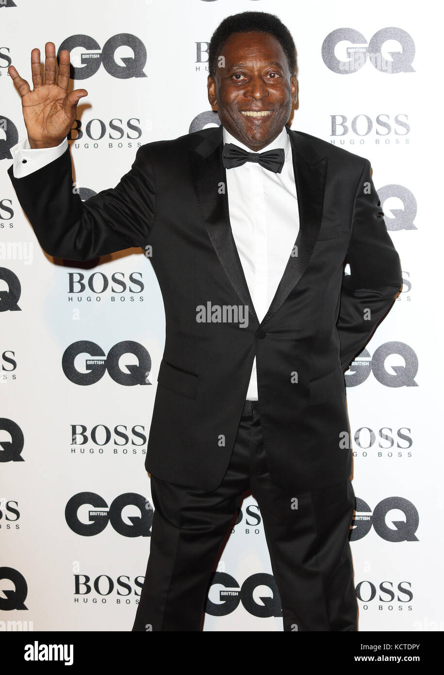 GQ Men of the Year Awards at Tate Modern, London  Featuring: Pelé Where: London, United Kingdom When: 05 Sep 2017 Stock Photo