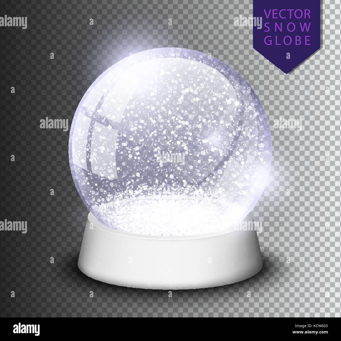 snow globe stock vector images alamy