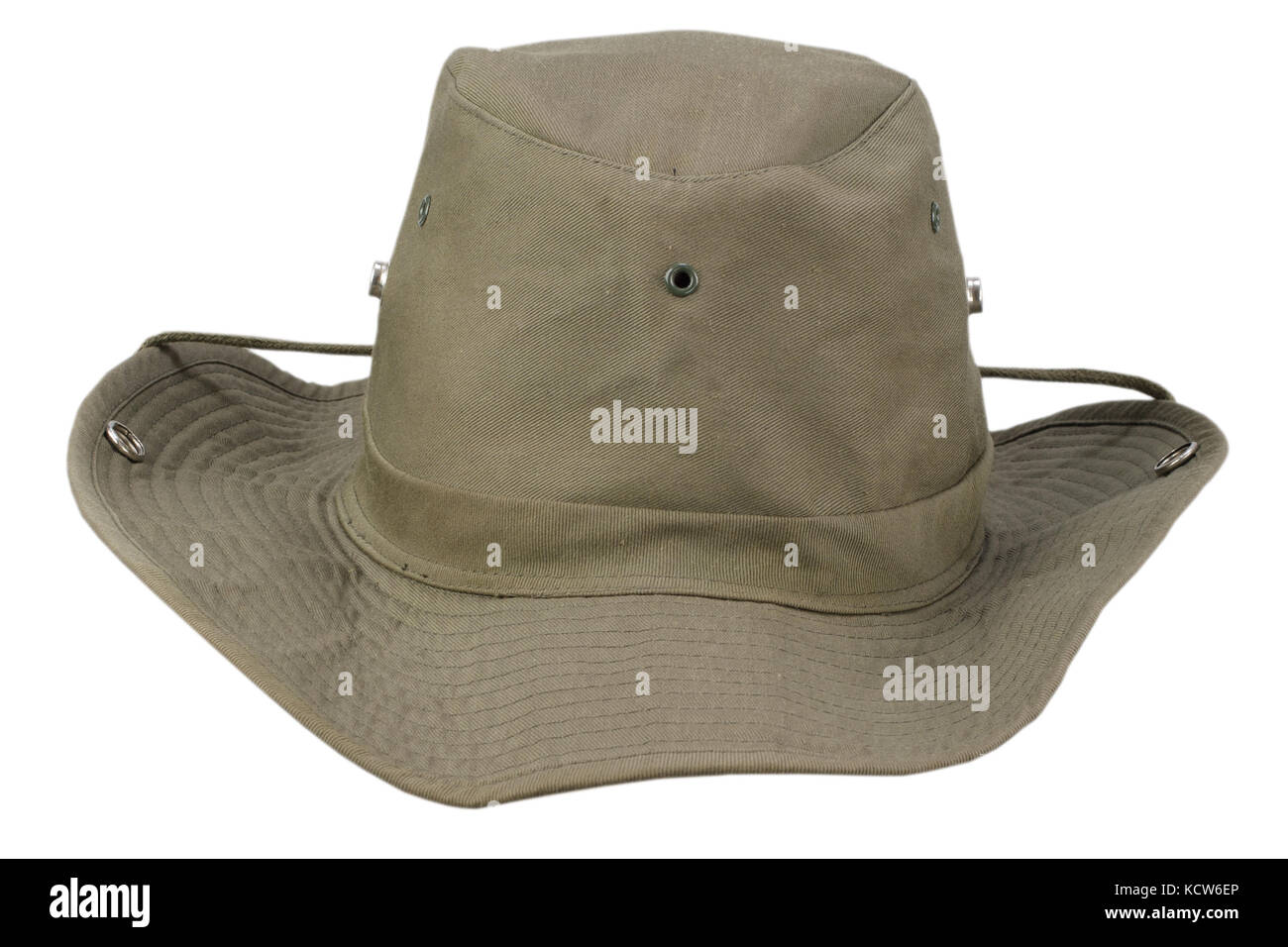 Boonie hat isolated on white background - Stock Image