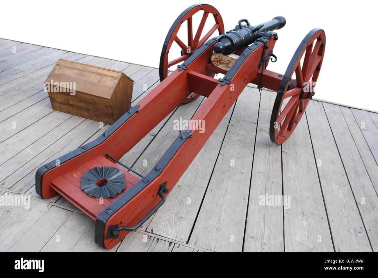 Gun Cannon Black Powder Stock Photos & Gun Cannon Black Powder Stock