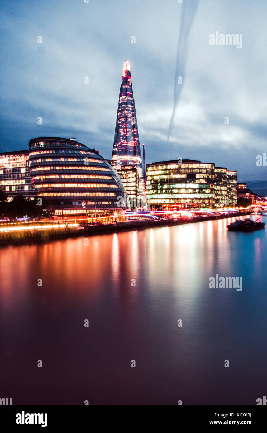 skyline from Londen - Stock Image