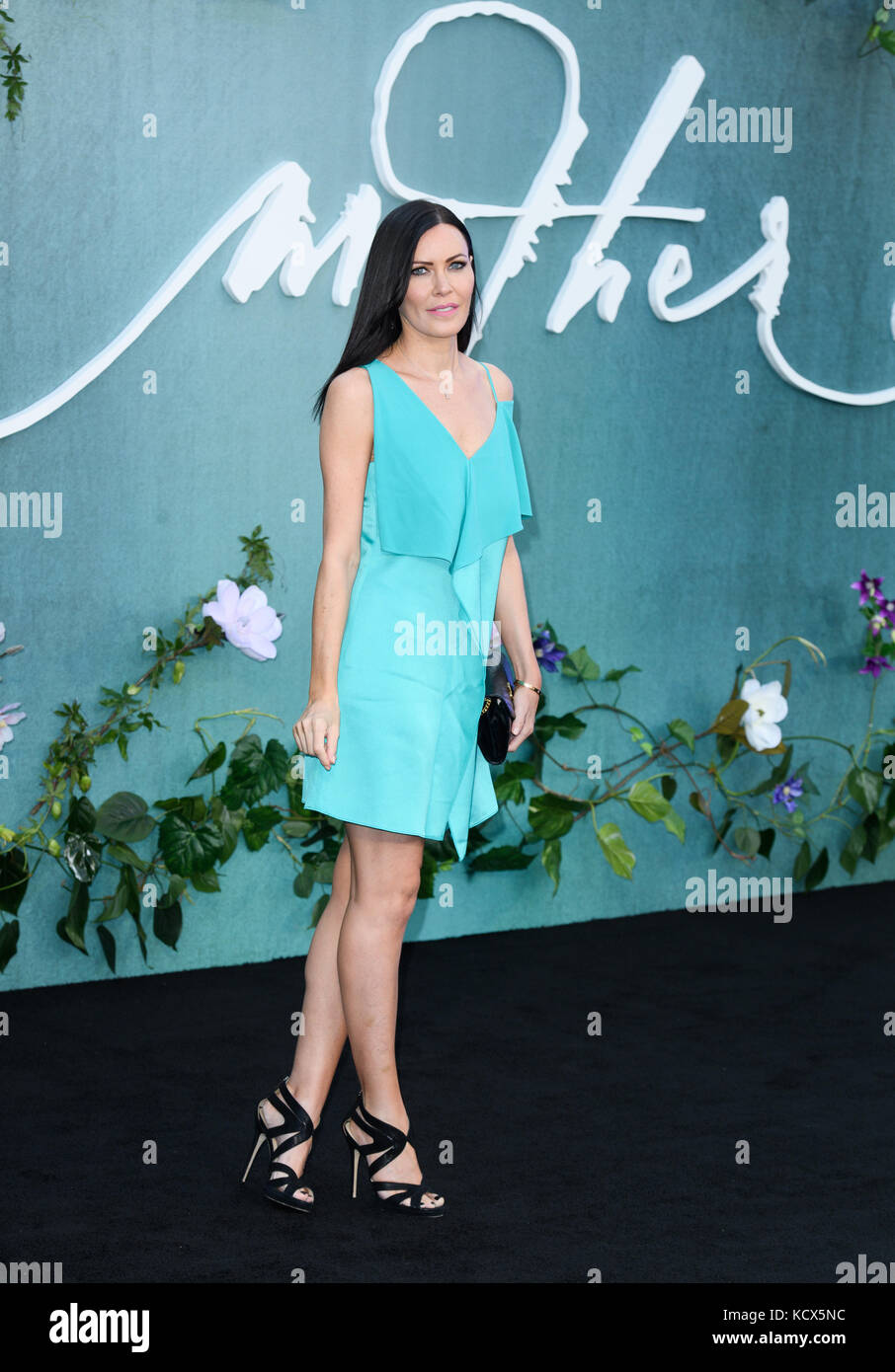 Mother Premiere Arrivals London. Britain  Featuring: Linzi Stoppard Where: Windsor, United Kingdom When: 06 Sep Stock Photo