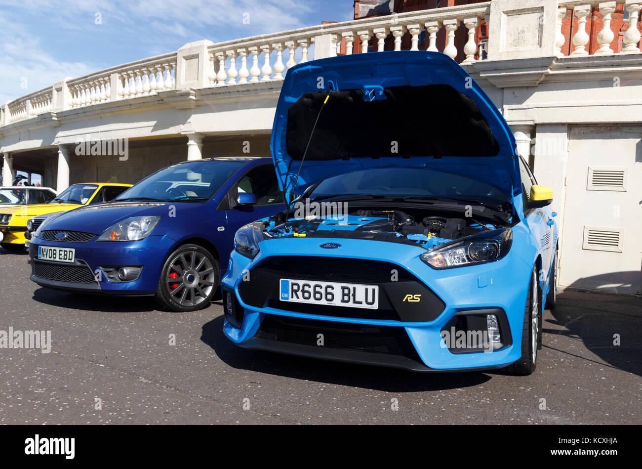 vente la plus chaude promotion spéciale boutique de sortie Ford Focus Rs Bonnet Up Stock Photos & Ford Focus Rs Bonnet ...