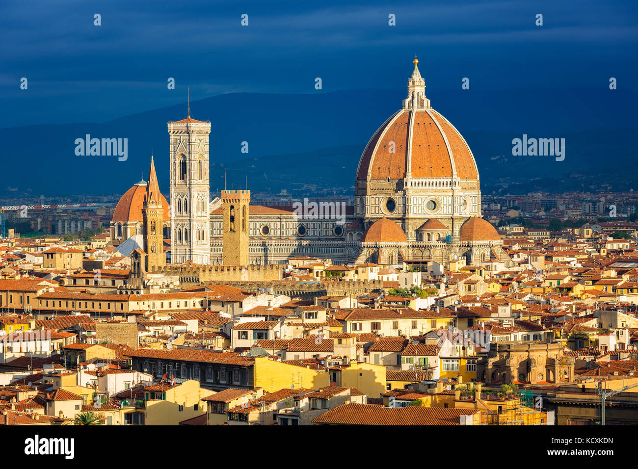 Duomo cathedral in Florence - Stock Image