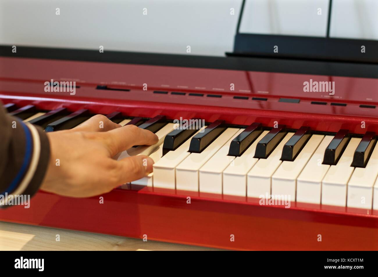 Roland FP-8 electric keyboard - Stock Image