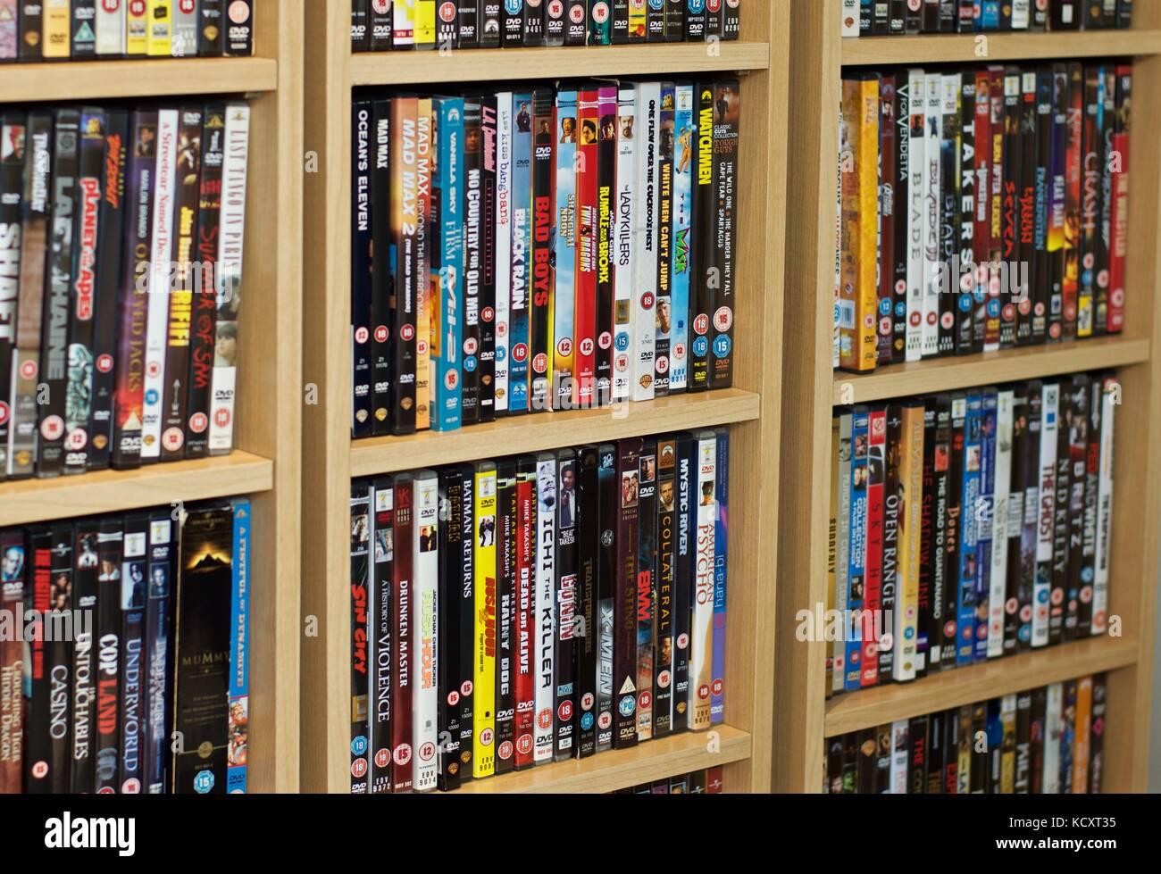 4b85f4eb0 Movie Collection Dvd Stock Photos   Movie Collection Dvd Stock ...