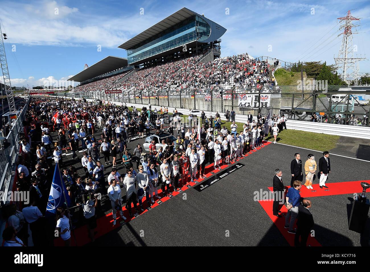 Suzuka International Racing Course, Japan. 8th October, 2017. Suzuka, 2017 FORMULA 1 JAPANESE GRAND PRIX , 06. Stock Photo