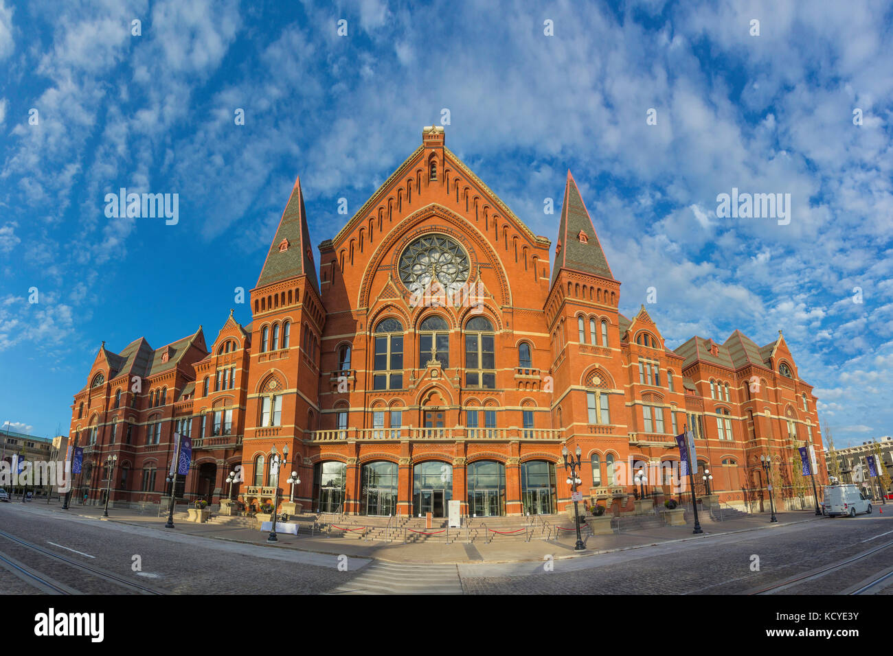 The newly renovated Music Hall located in Cincinnati Ohio. - Stock Image