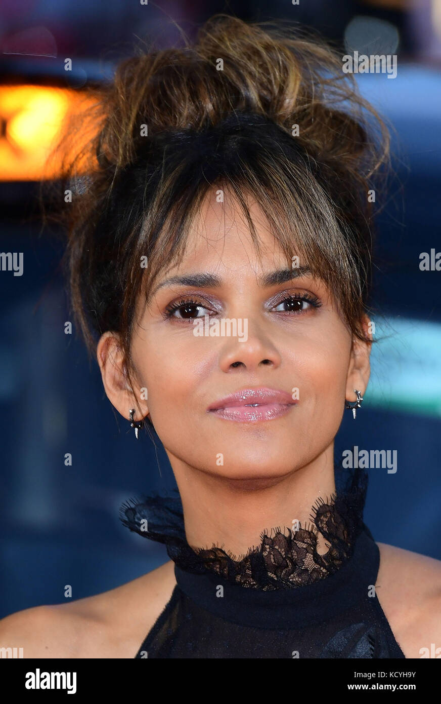 File photo dated 18-09-2017 of Halle Berry has said if she could give any advice to her younger self it would be - Stock Image