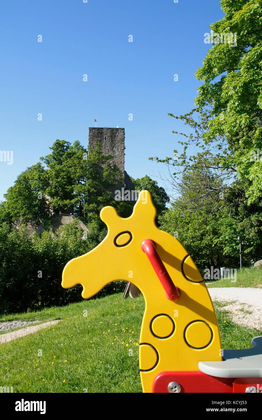 Burg Windeck bei Bühl Kappelwindeck im Schwarzwald Stock Photo