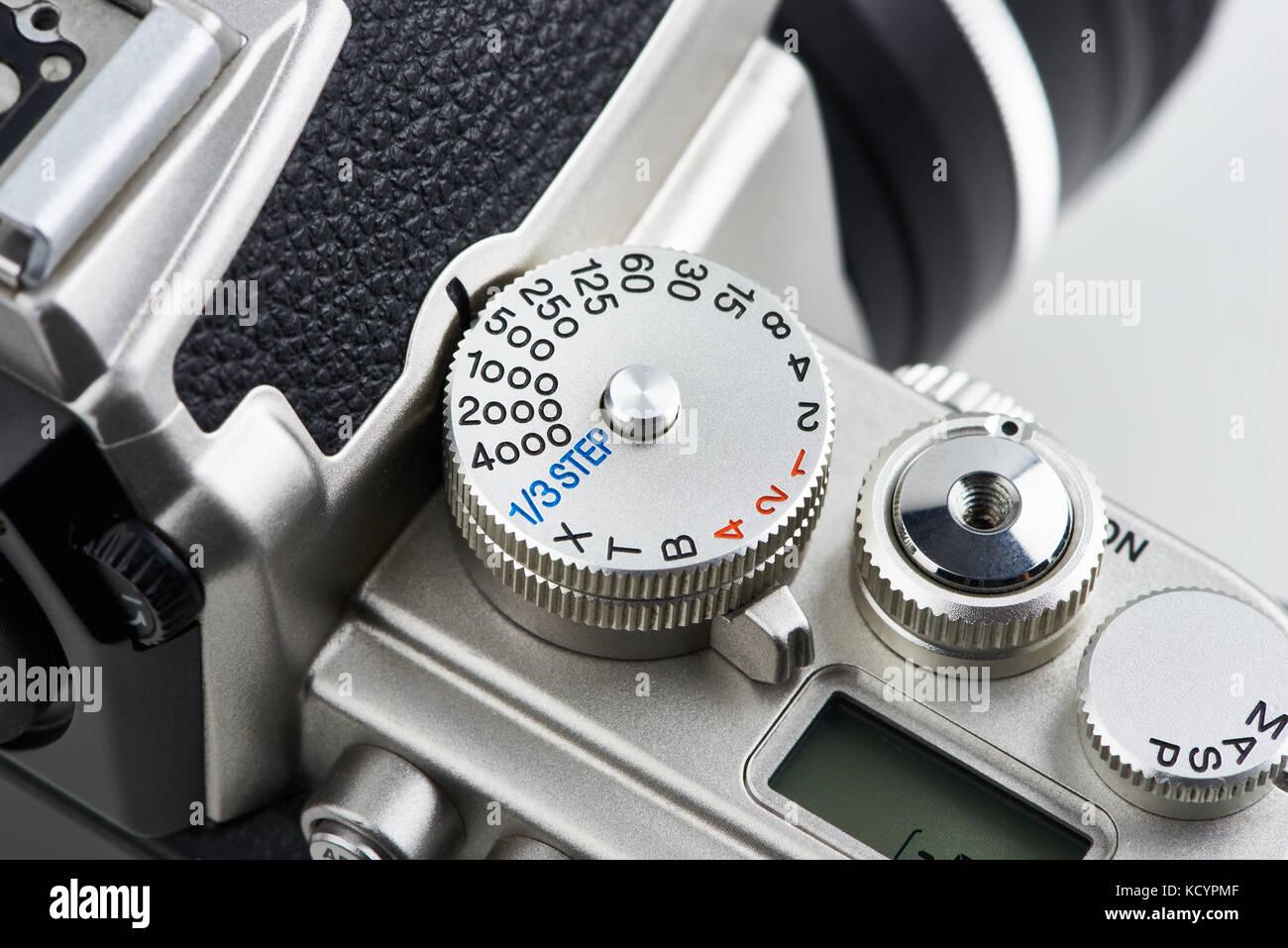 Camera Control Dial Mode Stock Photos & Camera Control Dial