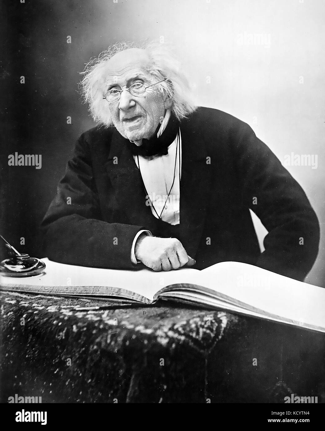 UNSPECIFIED - CIRCA 1860:  Eugene Chevreul (1786-1889), French chemist. Photo Nadar.  (Photo by Boyer/Roger Viollet/Getty - Stock Image