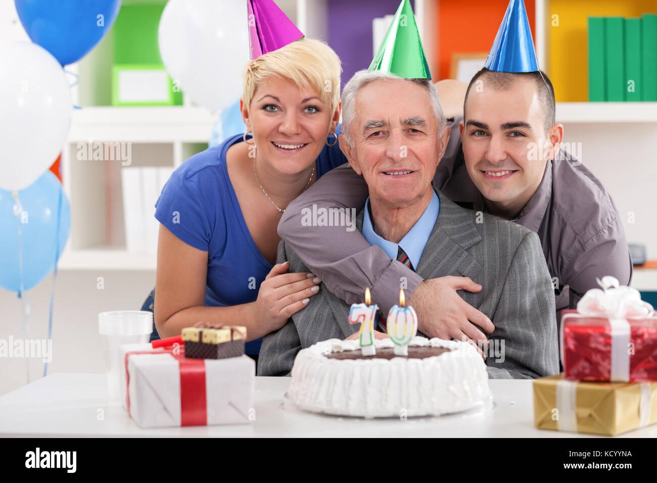 Outstanding 70Th Birthday Cake Stock Photos 70Th Birthday Cake Stock Images Birthday Cards Printable Trancafe Filternl