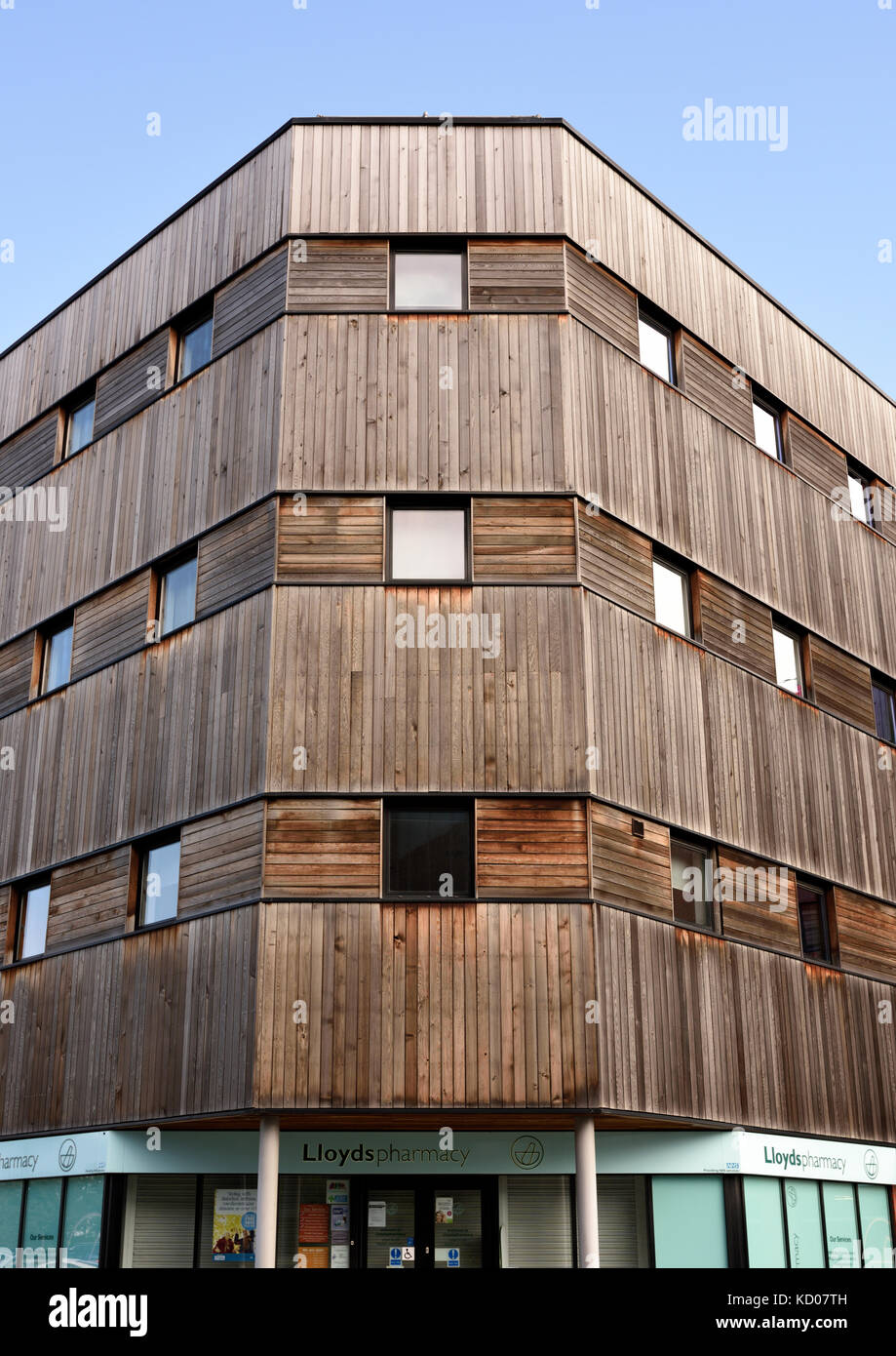 Vertical Wooden Cladding ~ Vertical wood cladding stock photos