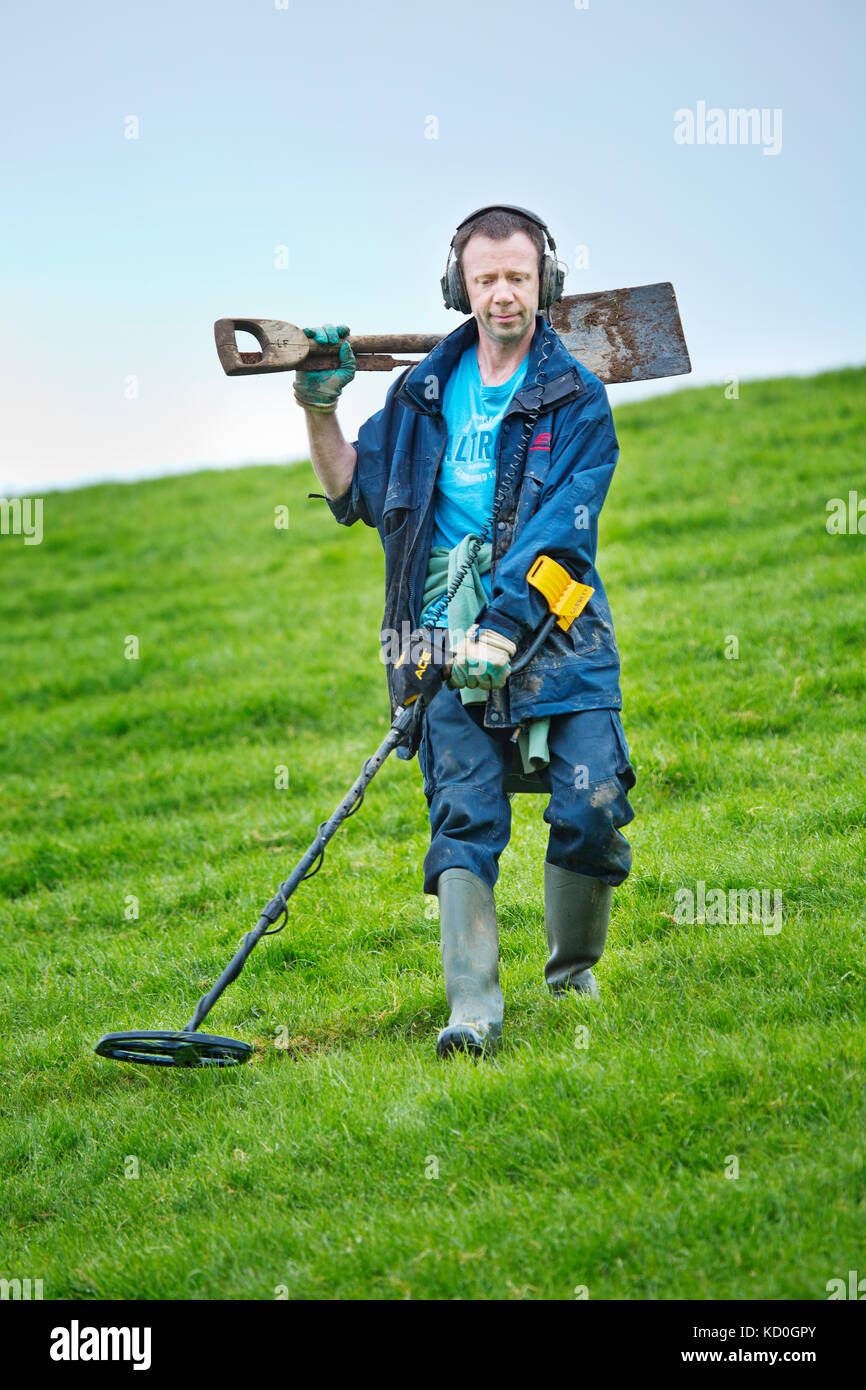 Jew Detector: Metal Detecting Find Stock Photos & Metal Detecting Find