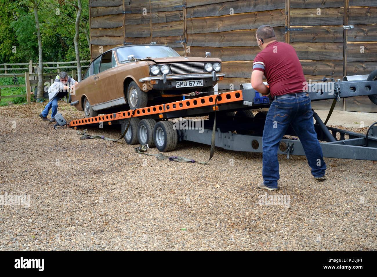 Restorable Classic Car Stock Photos & Restorable Classic Car Stock ...