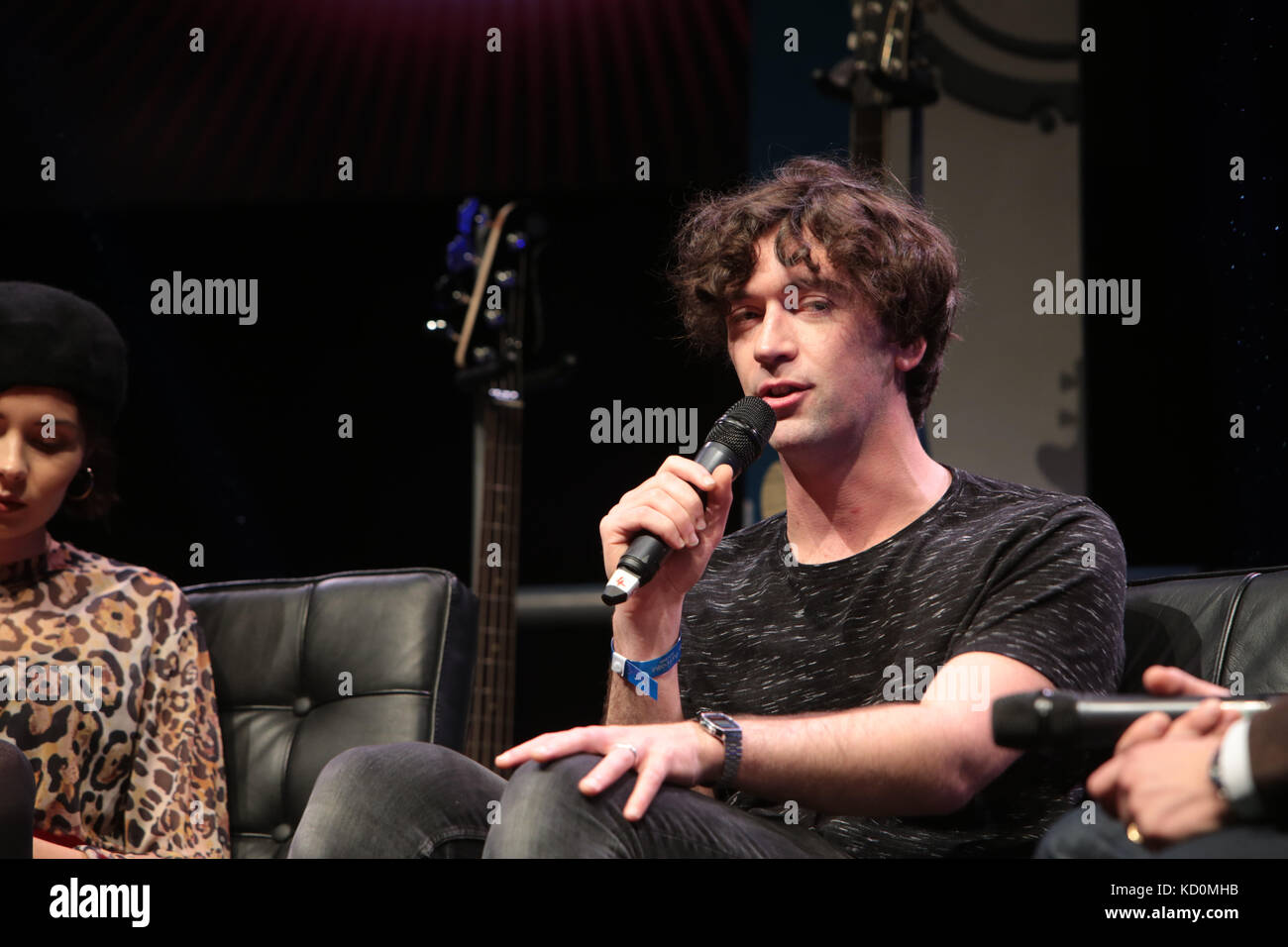 London UK 08 October 2017  BBC Music Introducing HOSTS Amplify '17 Session Keeping Control of Your Career presented - Stock Image