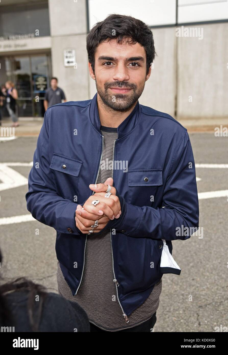 New York, NY, USA. 8th Oct, 2017. Sean Teale, seen at NYC Comic Con out and about for Celebrity Candids - SUN, New - Stock Image