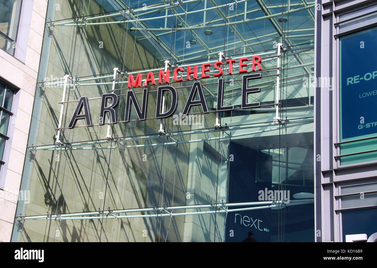 Manchester Arndale Shopping Centre - Stock Image