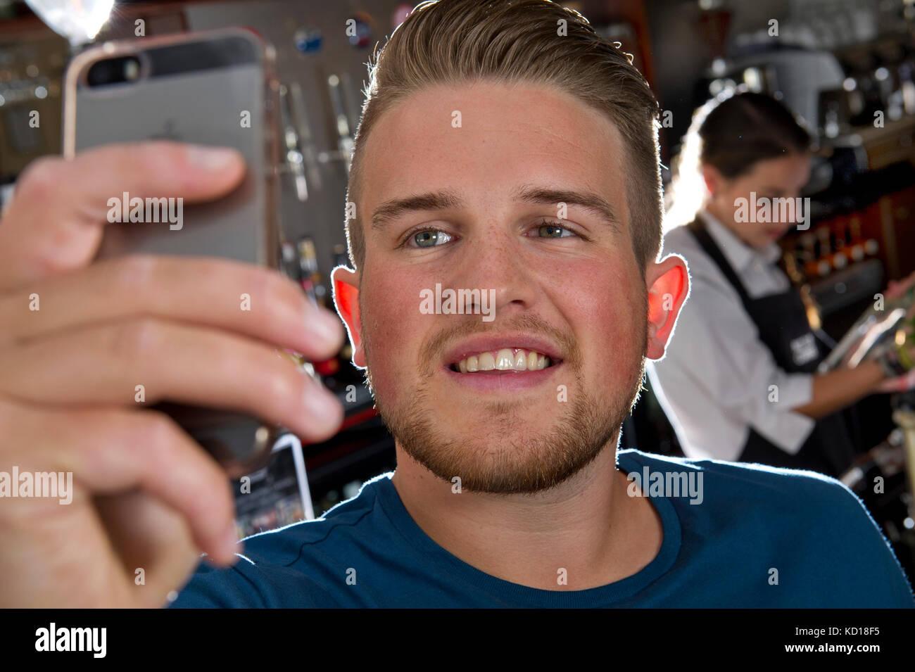 Ben Phillips, prankster, youtuber, social media celebrity Stock Photo