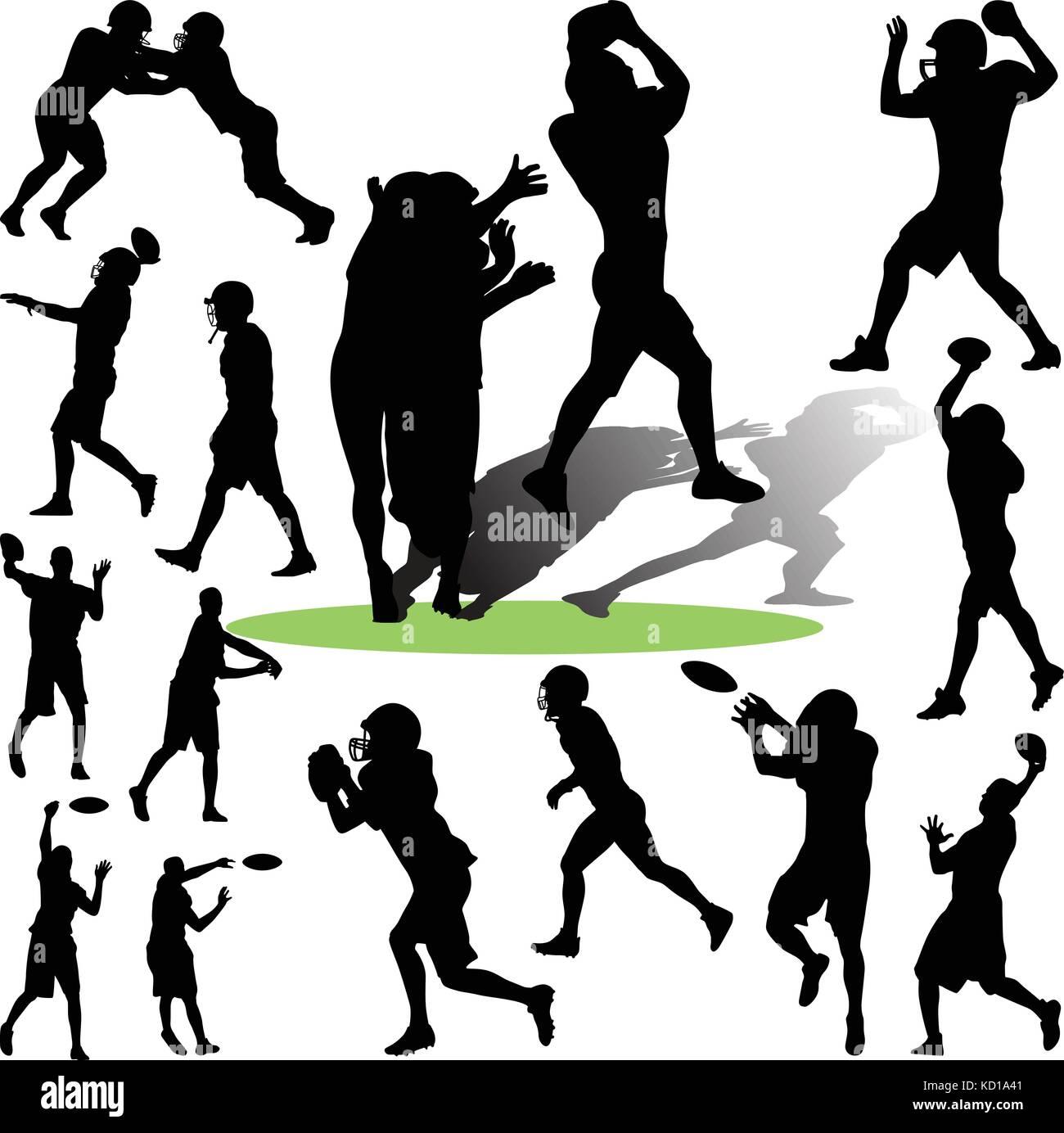footballplayer - Stock Vector