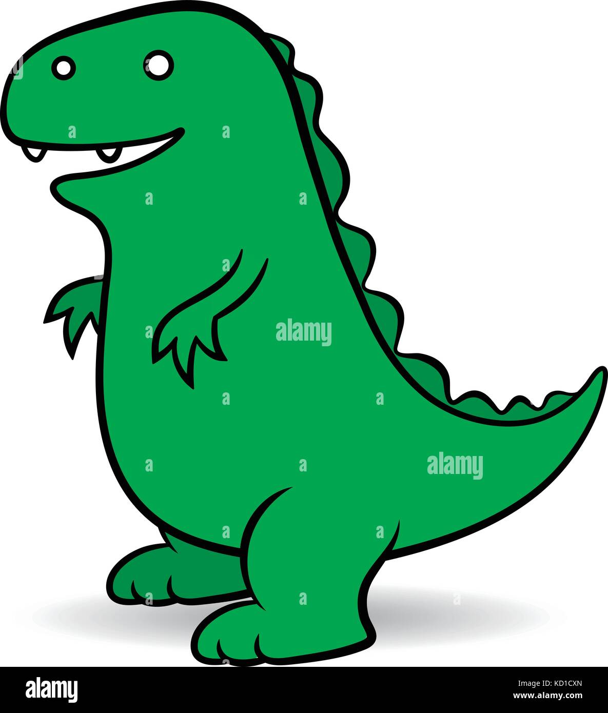 green cartoon a fictional giant godzilla monster portrayed as an rh alamy com Godzilla Vector Clip Art Godzilla Vector Clip Art