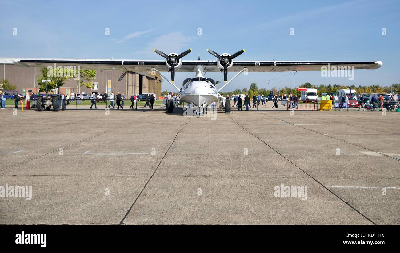 Catalina 'G-PBYA' at the IWM Duxford - Stock Image