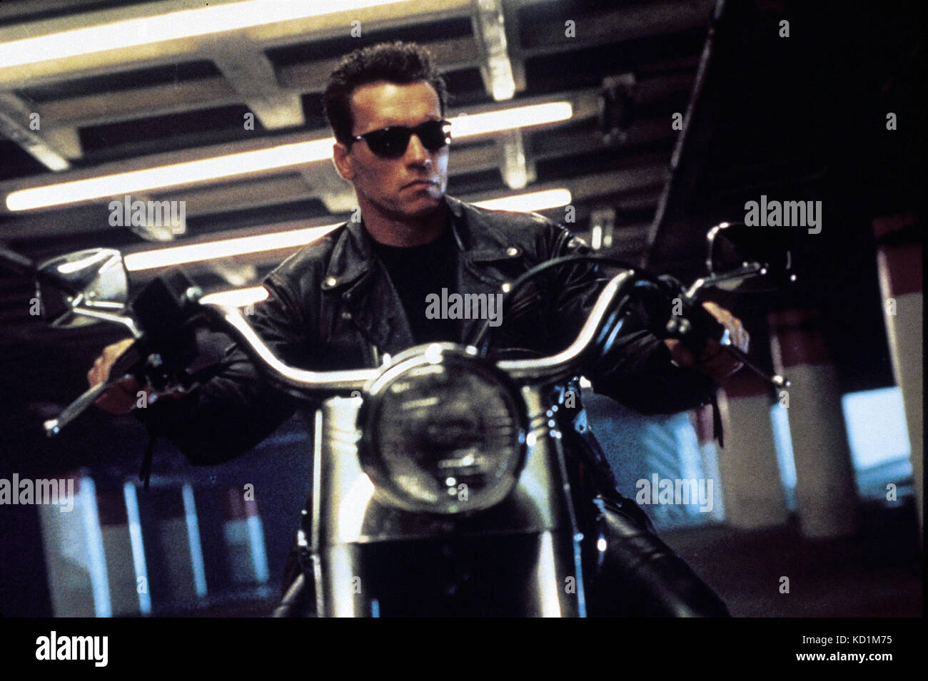 Terminator 2: Judgment Day (also referred to as Terminator 2 or T2) is a 1991 American science-fiction action film - Stock Image