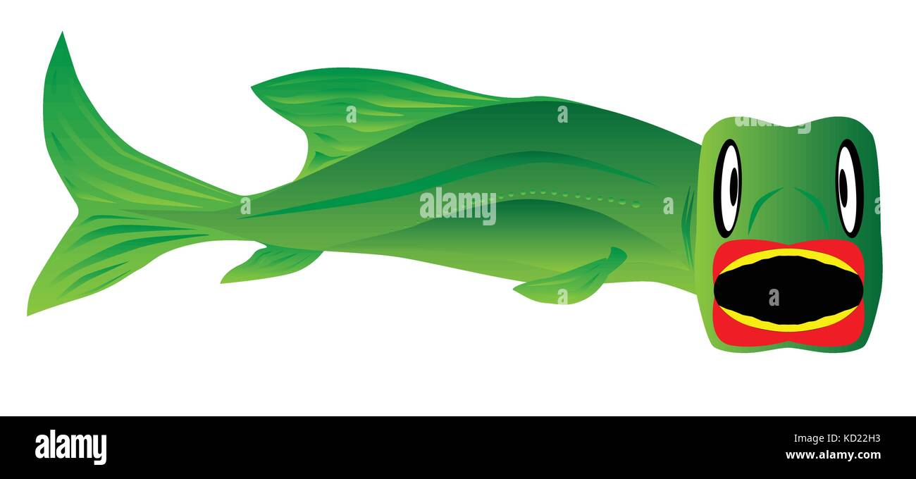 Angler Fish Stock Vector Images - Alamy