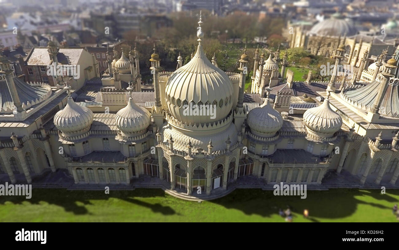 The Pavilion Palace in Brighton - Stock Image