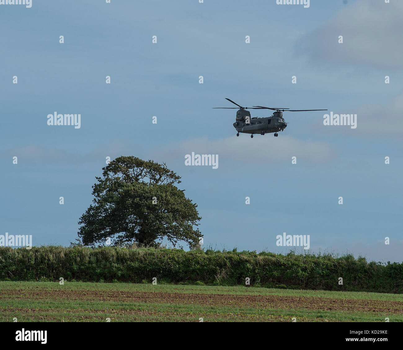 chinook helicopter - Stock Image