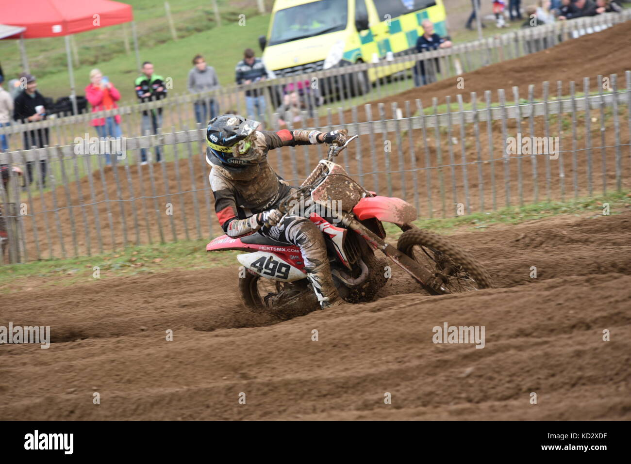 Eastern motocross Championships final round - Stock Image