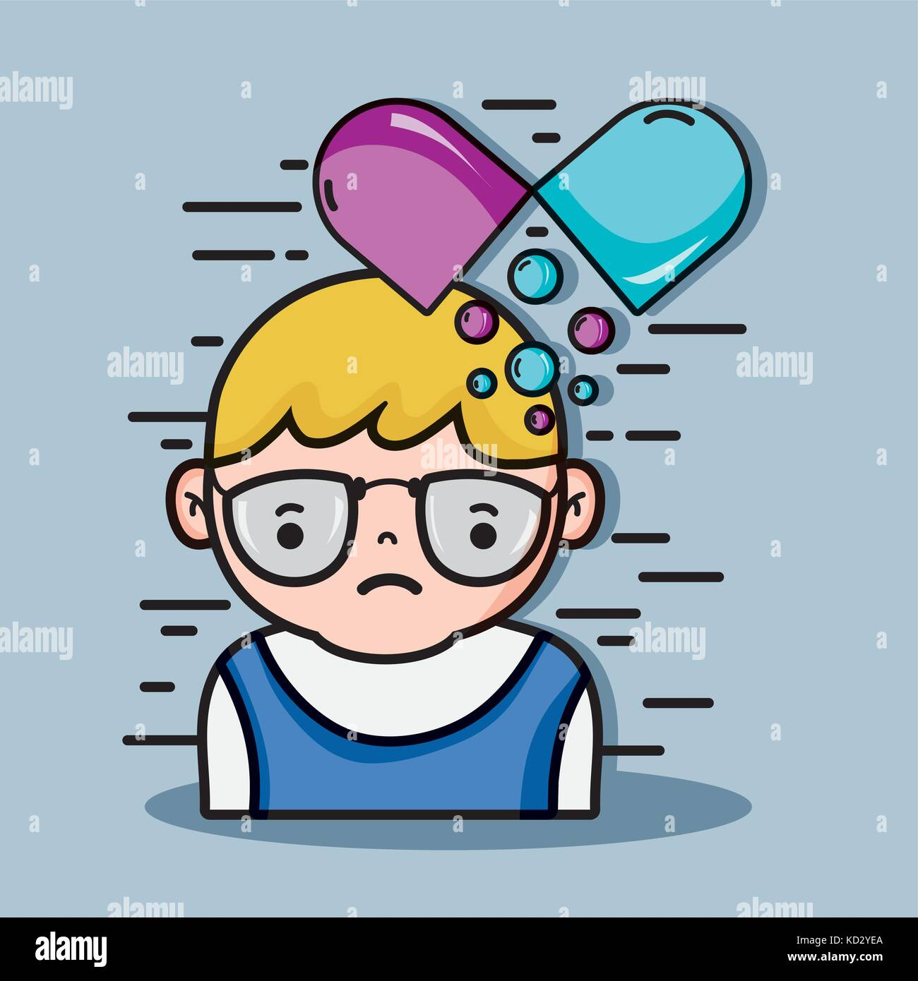 psychology analysis therapy inspiration design - Stock Vector
